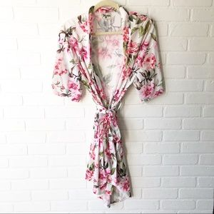 Show Me Your Mumu Floral Robe O/S
